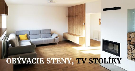 Obývacie streny, TV stolíky