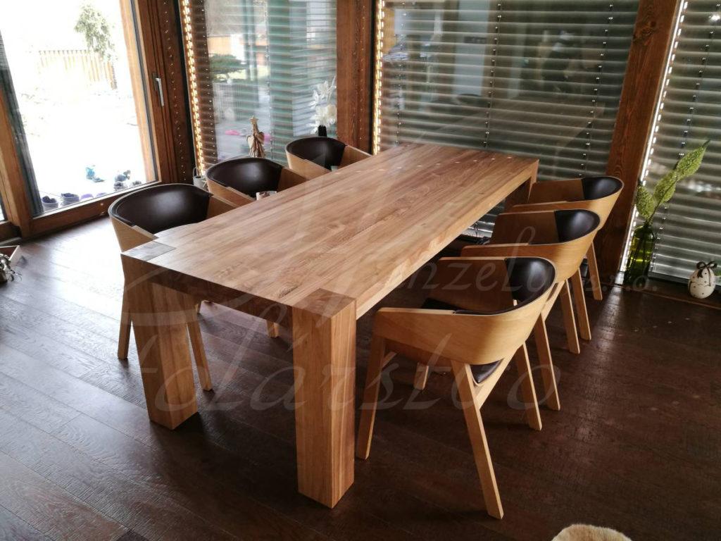 Stôl z masívu - jaseň
