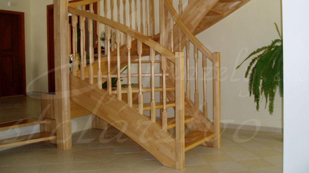Drevené schody na mieru